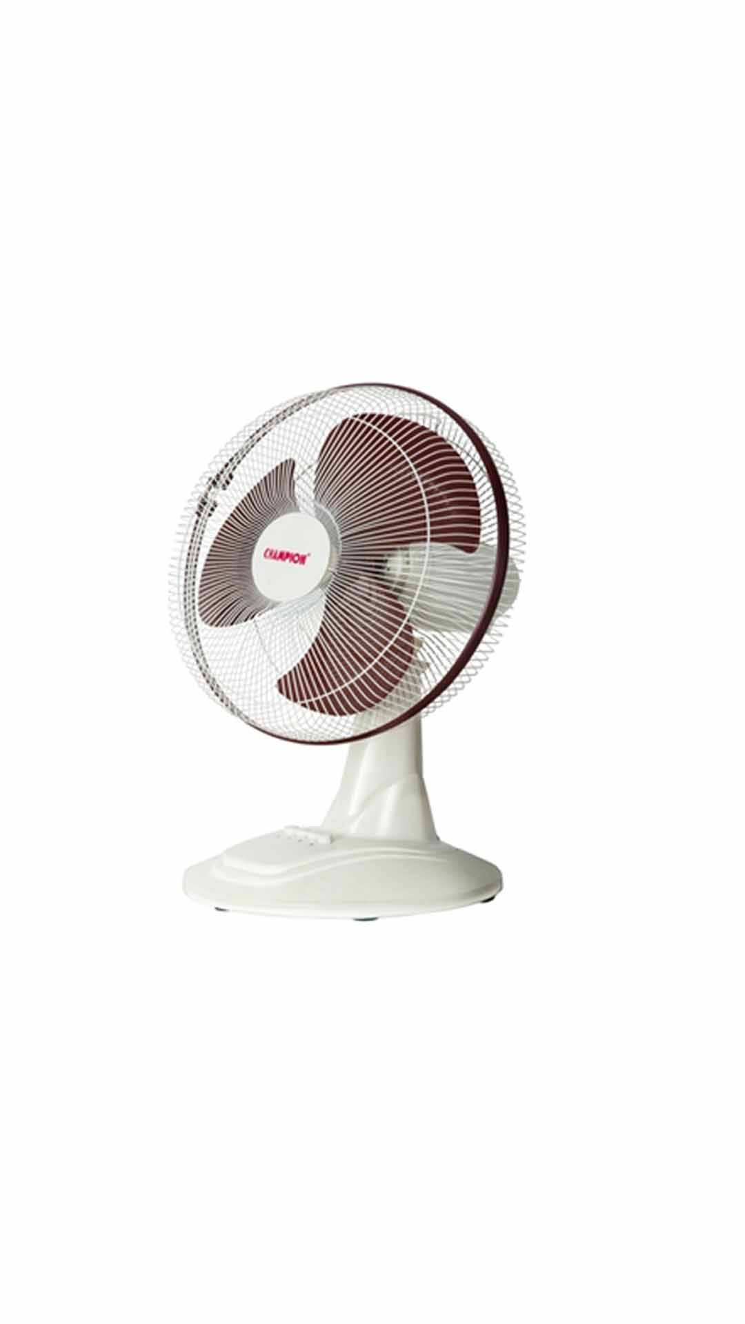 Champion CTF   1601 16 Inch 3 Blade Table Fan  Ivory & Maroon  available at Paytm for Rs.1690