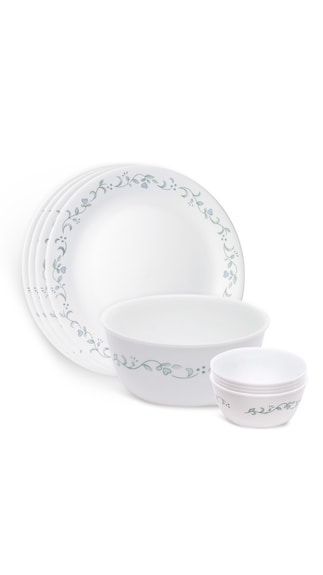Corelle Country Cottage 9 Pcs Gift Dinner Set