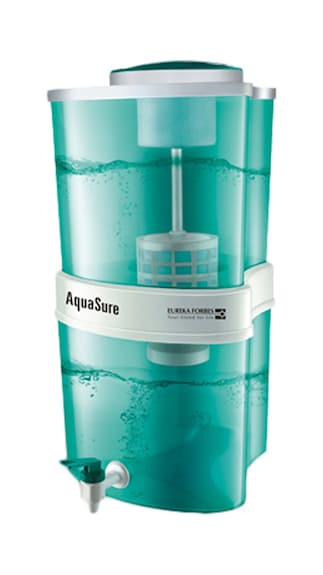 Eureka Forbes Aquasure Shakti 15 L 3 Purification Stages Water Purifier (Green)