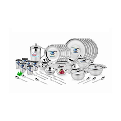 Gold High Quality Stainless Steel 51 Pcs Dinner Set