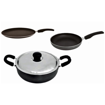 Grun Non Stick Cookware Set Of 4