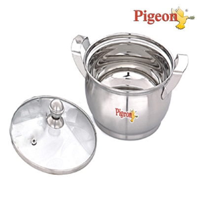 Pigeon Delight Solo Handi With Glass Lid