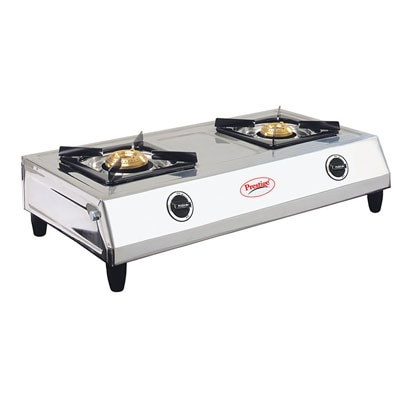 Prestige Agni 2 Burner Stainless Steel Gas Stove