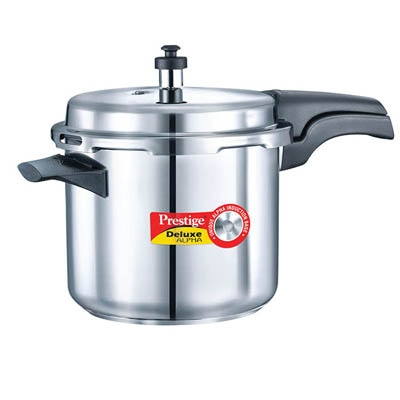 Prestige Deluxe AlpHard Andoized Stainless Steel Cooker 3.5 Litre