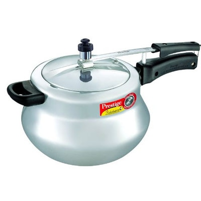 Prestige Nakshatra Plus Handi Aluminium Pressure Cooker