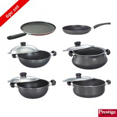 Prestige Omega Select Plus Non-Stick Kitchen In A Box Set-6 Pcs