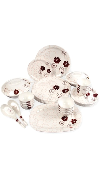 ShaRivz Melamine Star Dinner Set -32 Pcs