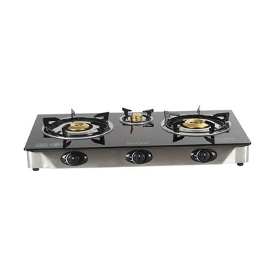 SS-002C 3 Burner Cooktop (Automatic)