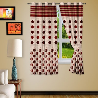 Story@Home Door Curtain Set Of 2