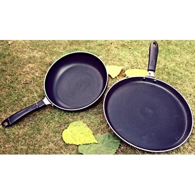 Surya Grand Induction Base Non Stick  Cookware Set Of 2