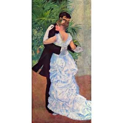 The Museum Outlet The Dance In The City By Renoir - Museum Canvas Print