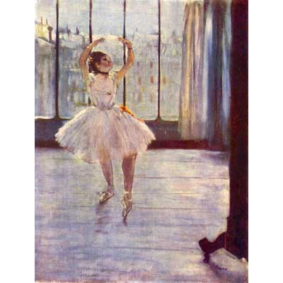 The Museum Outlet The Dancer At The Photographer By Degas - Canvas Print