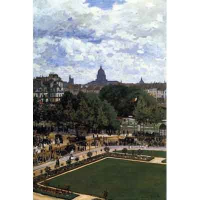 The Museum Outlet The Garden Of The Infanta By Monet - Wall Art