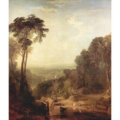 The Museum Outlet The Crossing Of The Stream By Joseph Mallord Turner - Fine Art Canvas Print