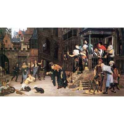 The Museum Outlet The Return Of The Prodigal Son By Tissot - Museum Canvas Print