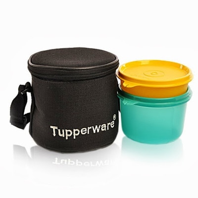 Tupperware Junior Executive Containers Lunch Box Set