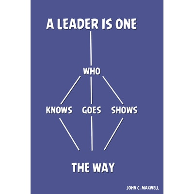 "Vinaratrends ""A Leader In One Who Knows The Way- Goes The Way- Shows The Way"" Posters"