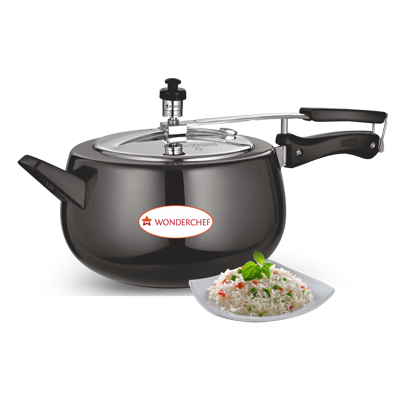 Wonderchef Hard Anodized And Stainless Steel Cooker