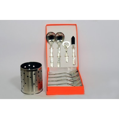 Fancy Centre 10 Pcs Kitchen Tool Set With Free Kitchen Tool Stand