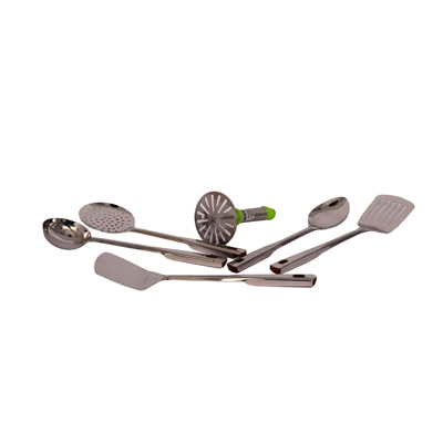 Fancy Centre 5 Pcs Kitchen Tool Set With Round Masher