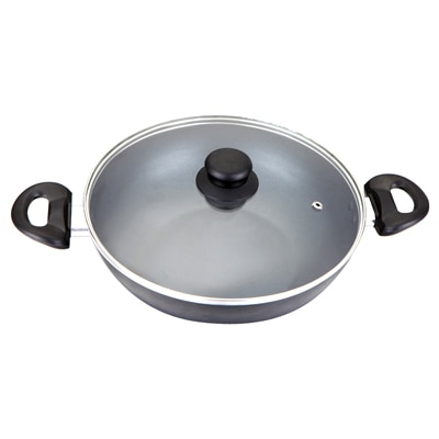 Wondercraft Impact Wok 26Cm With Glass Lid By Chef Sanjeev Kapoor