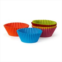 Wonderchef Trudeau Silicone Large Muffin Cups (Set Of 6)