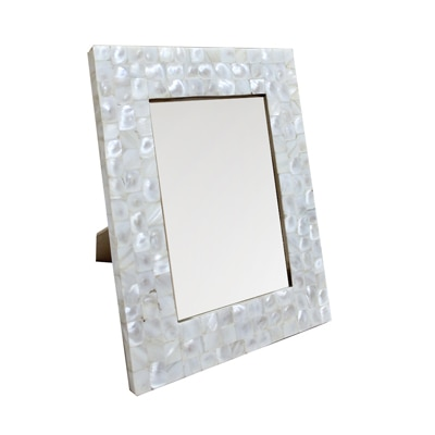 KKD Photo Frame Of White Mother Of Pearl