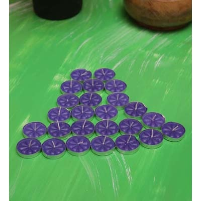 Blackberry Overseas Set Of 25 T-Lights Purple Color