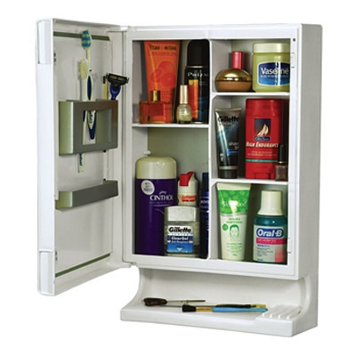Cipla Plast New Look Multipurpose Bathroom Cabinet White