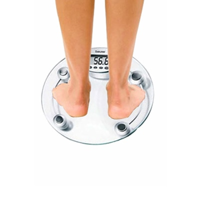 Digital Thick Glass Weighing Scale/Weight Measurement Machine (Kgs/Lbs)