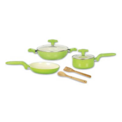 Alda Ceramic Coating Forged Cookware 7 Pcs Gift Set