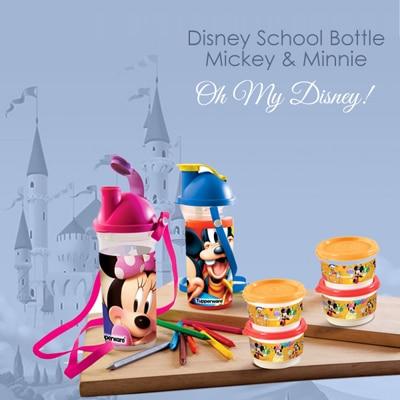 Tupperware Disney Minnie Bottle Or Tupperware Micky Bottle