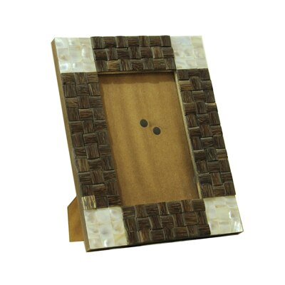 KKD Photo Frame Of Taadiwood And White Mother Of Pearl