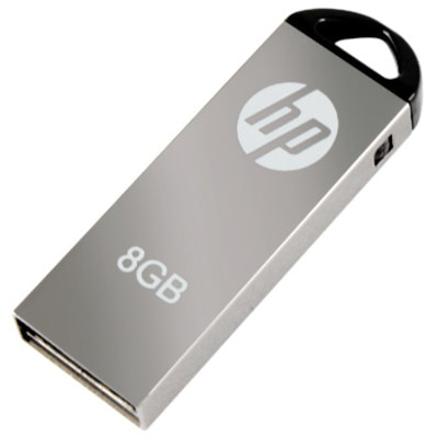 HP V 220 W 8 GB Pen Drive (Grey)