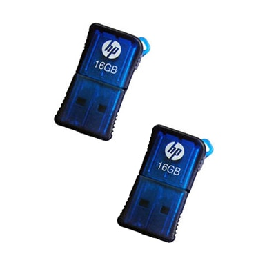 HP V 165 W 16 GB Pen Drive (Pack Of 2)