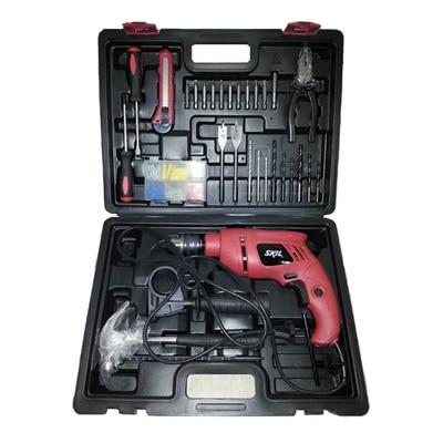 Skil (By Bosch) 6513 Jp Impact 13 mm Drill Machine With Complete Kit