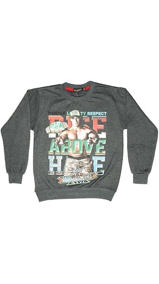 Zoom 1 Winter Kidswear Sweatshirt Grey - (Size 12-14 Years)