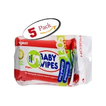 Pigeon Baby Wipes 10 Sheets (5 In 1)