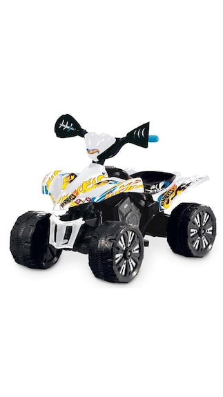 Hotwheels Battery Operated Hotwheels Quad Bike With Brakes