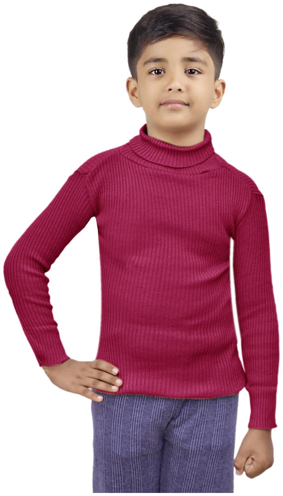 Multi-7go Details about  /Indiweaves Boy Wool Striped Sweater