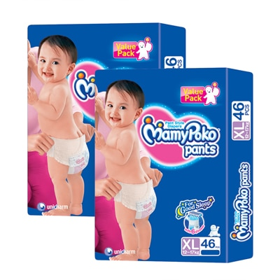 Mamy Poko Pants Diaper XL - 46 Pcs(Pack of 2)