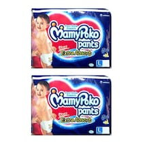 Mamypoko Pants Diapers Large Pack Of Two (36 Pcs)