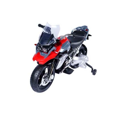 Toyhouse Officially licensed BMW R1200GS Motorcycle Rechargeable Battery Operated Ride on Black & Red