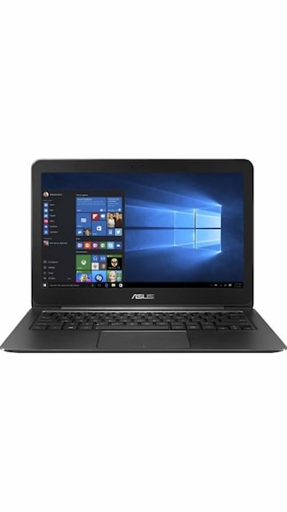 Asus UX305FA-FC008T (90NB06X1-M11270) (Intel Dual Core M /4 GB /256 GB /33.8 cm (13.3) /Windows 10) (Black & Metal)