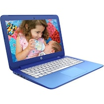 HP 13-C019TU Stream (K8T73PA) (Celeron Dual Core (4th Gen)/2 GB RAM/32 GB HDD/13.3 Inch/Windows 8.1) (Horizon Blue)