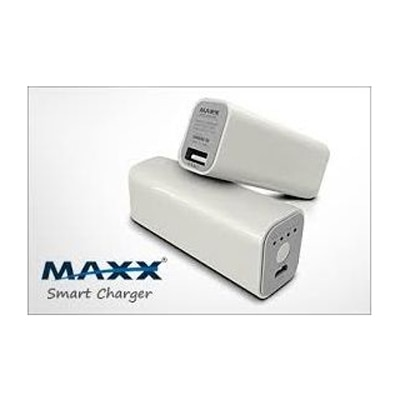MAXX PBS26 2600 MAh Smart Power Bank Charger (White)