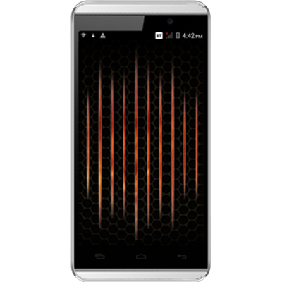 Micromax Canvas Fire A104 (White And Gold)