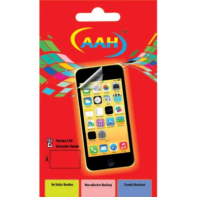 AAH Scratch Resistant Screen Guard For Samsung Wave Y/S5380