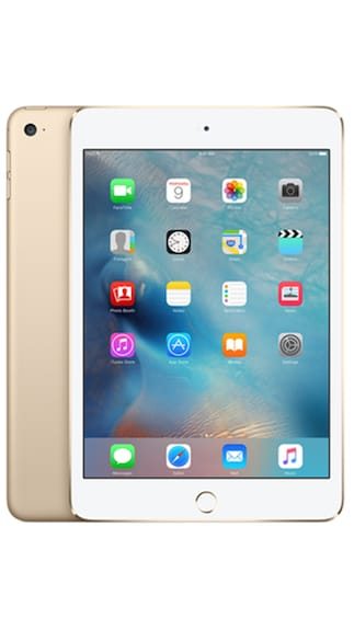 Apple iPad Mini 4 64 GB With Wifi + Cellular (Gold)
