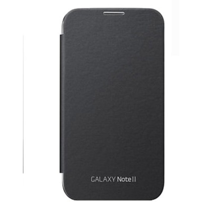 Axes Flip Cover For Samsung Galaxy Note2 N7100 (Black)
